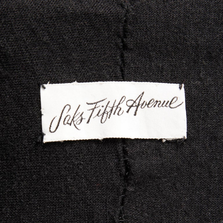 1960s Saks Fifth Avenue Vintage Mahogany Mink Fur Scarf, Fling, Stole or Wrap For Sale 2
