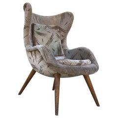 1960s Scandinavian Armchair, Swedish Armchair, Danish Armchair
