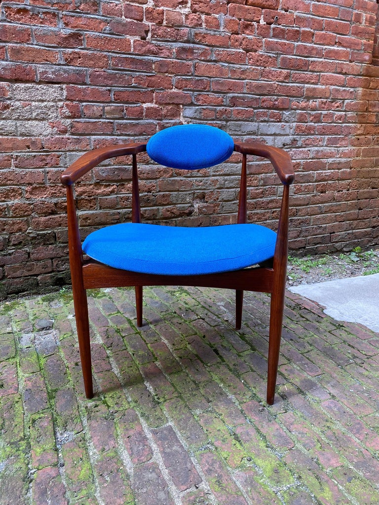 Danish 1960s Adrian Pearsall for Craft Associates 950-C Upholstered Armchair For Sale