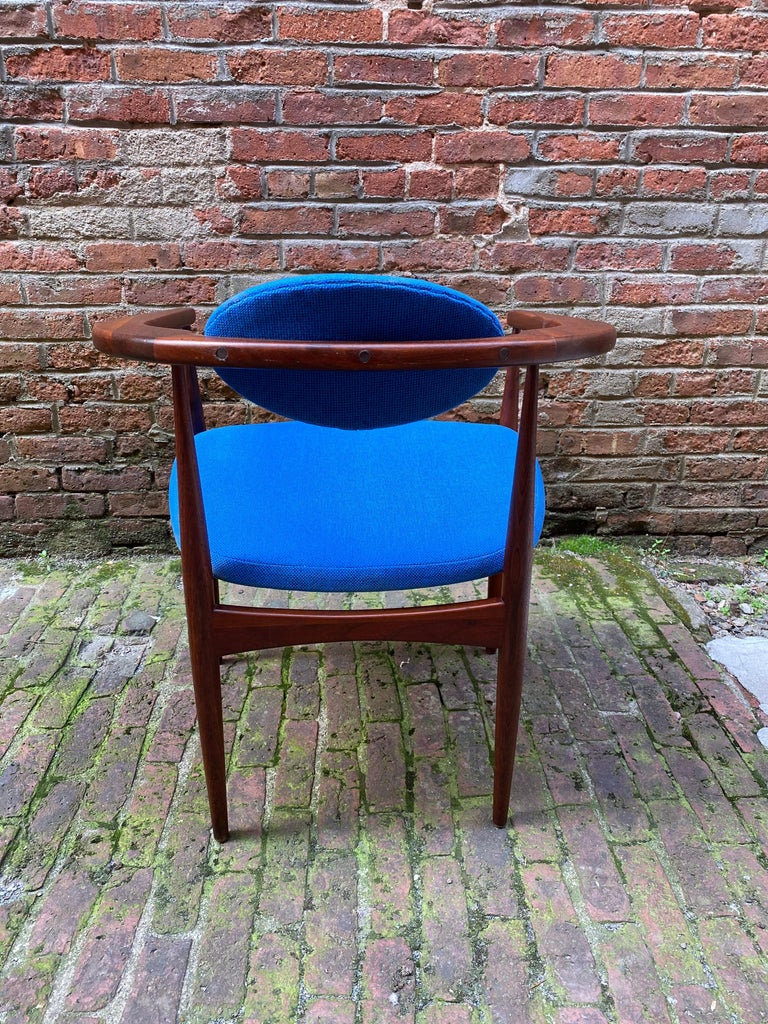 Mid-20th Century 1960s Adrian Pearsall for Craft Associates 950-C Upholstered Armchair For Sale