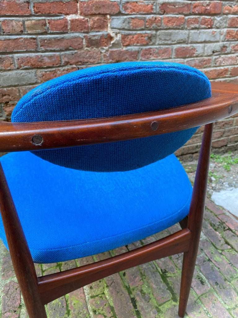 1960s Adrian Pearsall for Craft Associates 950-C Upholstered Armchair For Sale 1