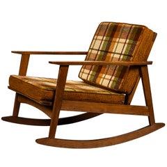 1960s Scandinavian Rocking Chair