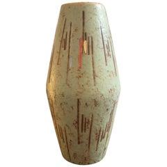 1960S Scheurich Modernist Ceramic Vase Made in Germany