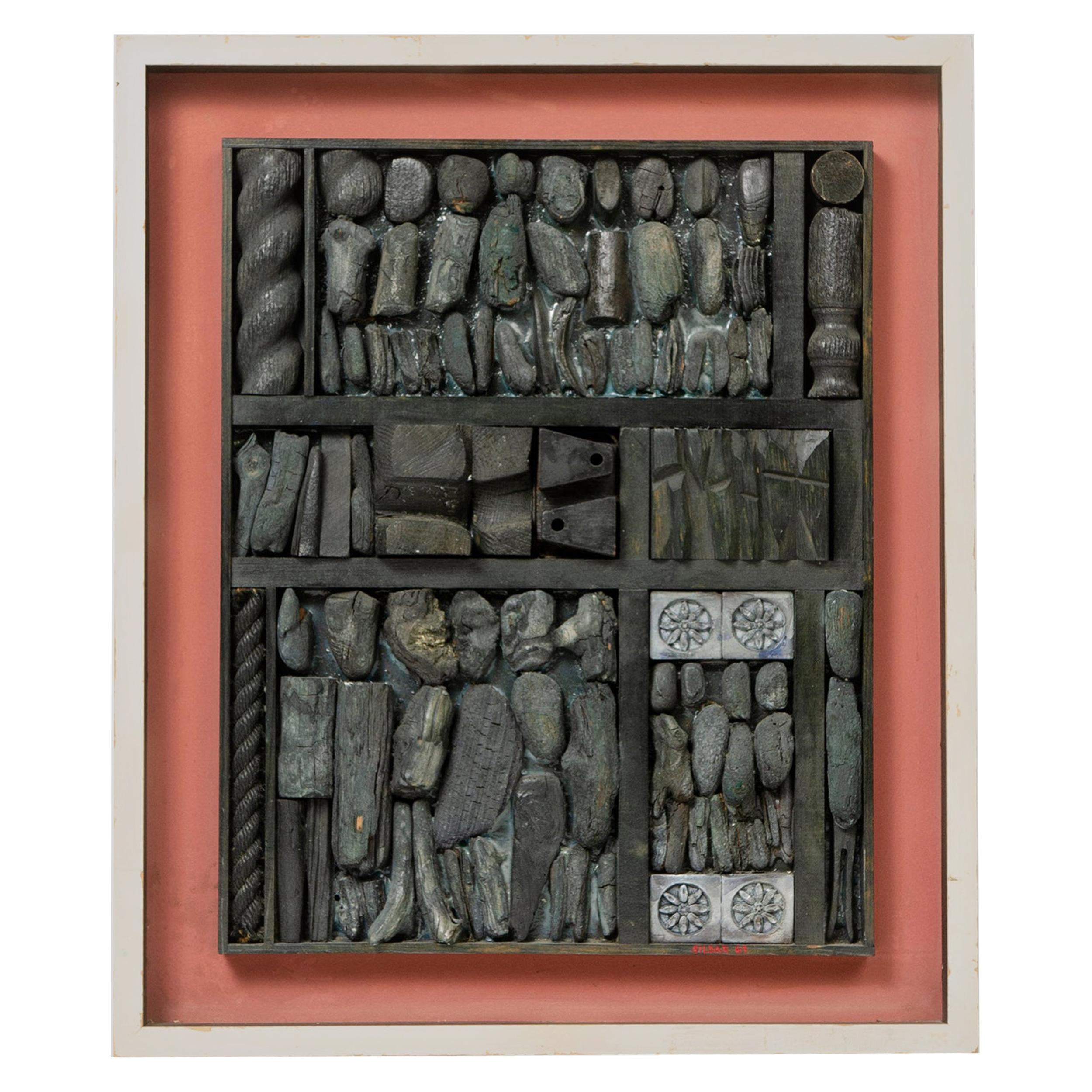 1960s Sculptural Collage by William Sildar