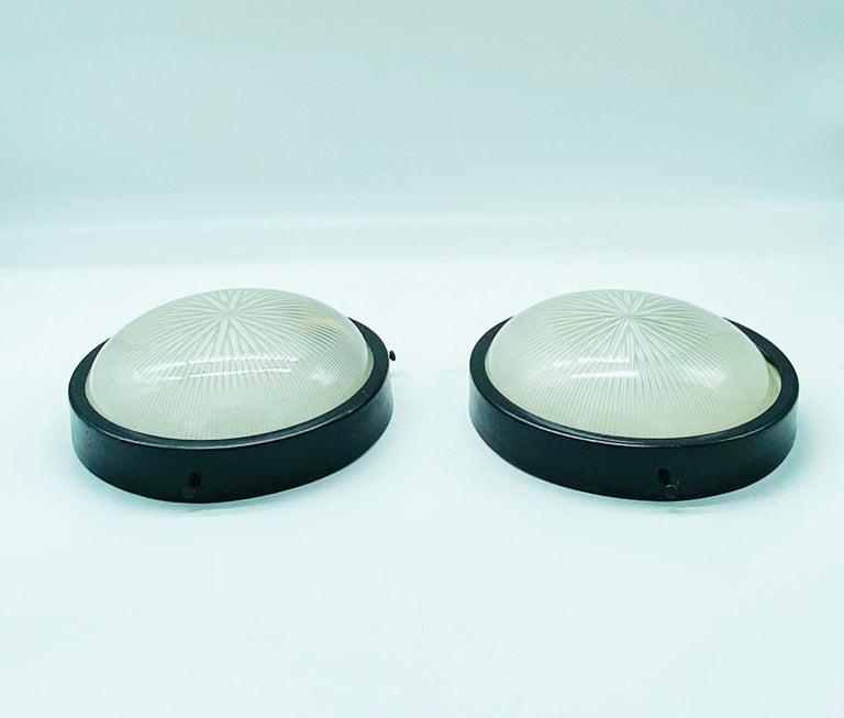 Italian 1960s Sergio Mazza for Artemide Sigma Sconces For Sale