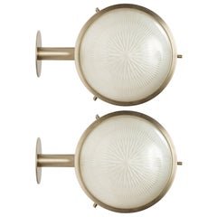 1960s Sergio Mazza 'Gamma' Sconces for Artemide