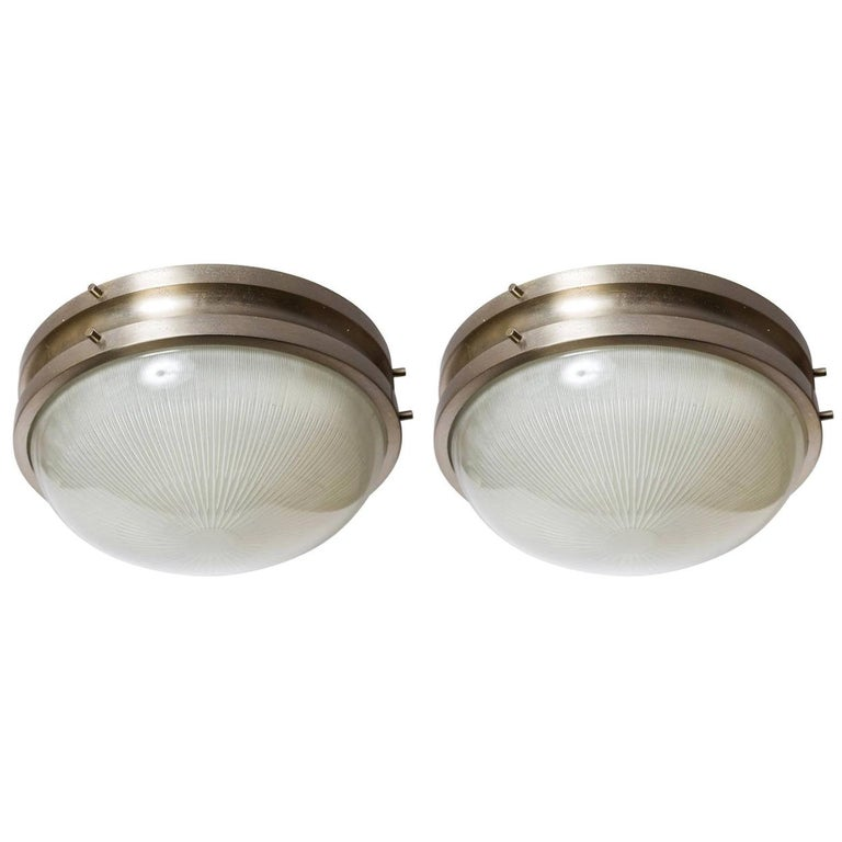 1960s Sergio Mazza 'Sigma' Wall or Ceiling Lights for Artemide, 1960s For Sale