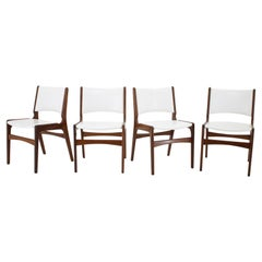 1960s Set of 4 Teak Dining Chairs, Denmark