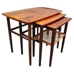 1960s Set of Danish Nesting Tables