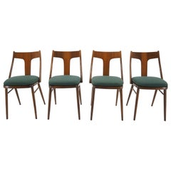 1960s Set of Four Dining Chairs, Czechoslovakia