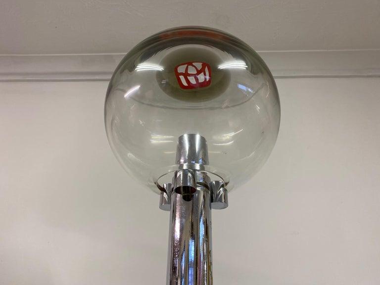 1960s Set of Three Floor Lamps by Ludovico Diaz de Santillana For Sale 8