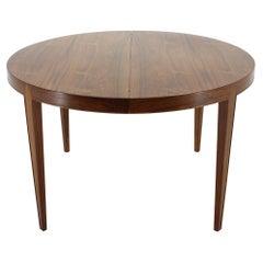 1960s Severin Hansen Extendable Rosewood Dining Table for Haslev Møbelsnedkeri,D