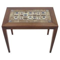 1960s Severin Hansen Rosewood/Tiles Occasional Table, Denmark