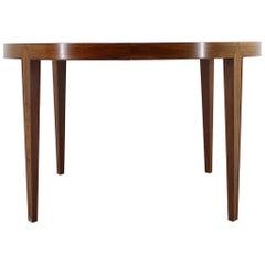 1960s Severin Hansen Round Palisander Extendable Table