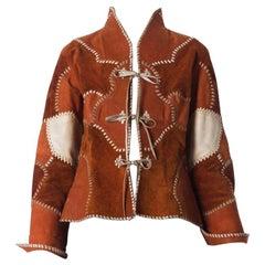 1960S  Shar Patchwork Leather Jacket
