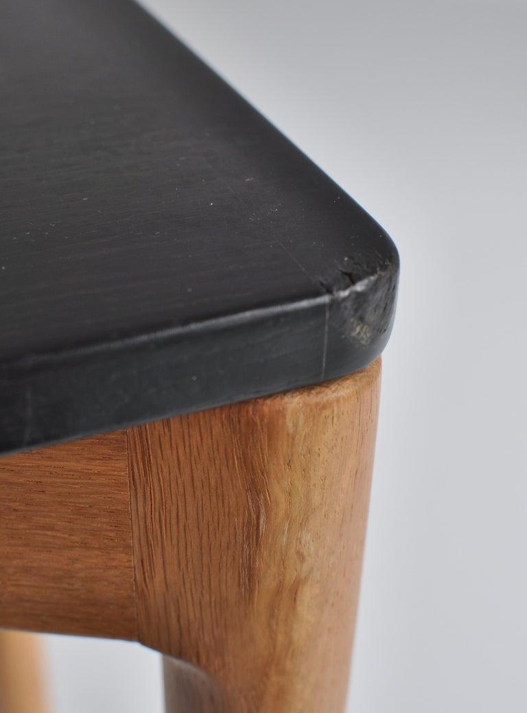 1960s Side Table in Oak by Kurt Østervig for Slagelse Mobelvaerk, Denmark For Sale 5
