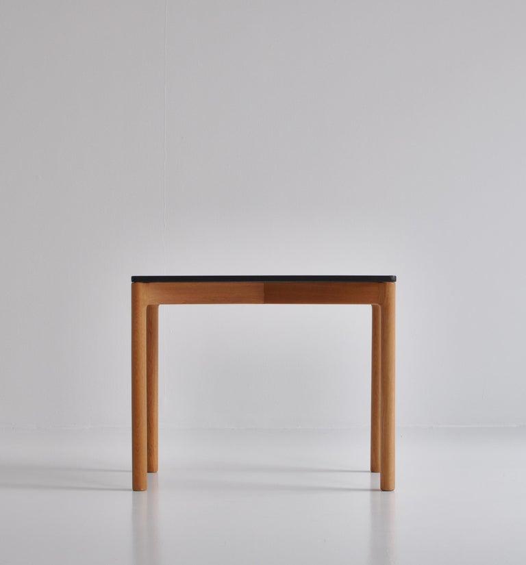 Danish 1960s Side Table in Oak by Kurt Østervig for Slagelse Mobelvaerk, Denmark For Sale