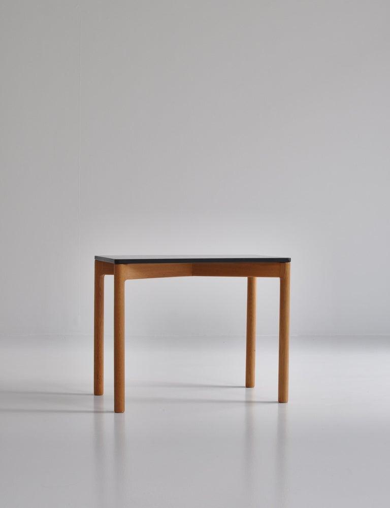 Mid-20th Century 1960s Side Table in Oak by Kurt Østervig for Slagelse Mobelvaerk, Denmark For Sale