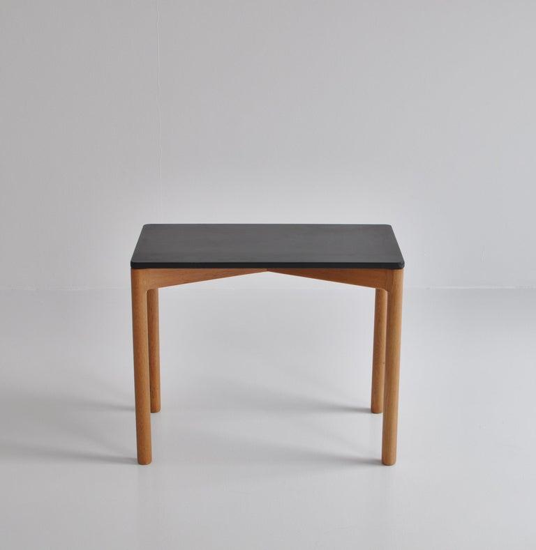 1960s Side Table in Oak by Kurt Østervig for Slagelse Mobelvaerk, Denmark For Sale 1
