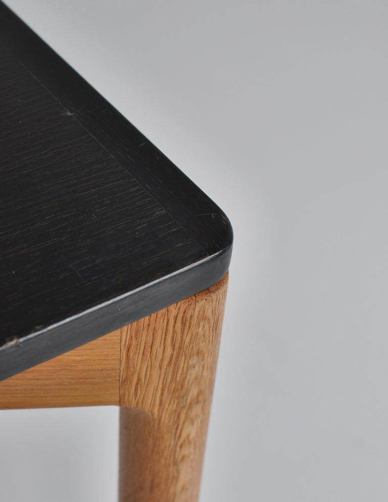1960s Side Table in Oak by Kurt Østervig for Slagelse Mobelvaerk, Denmark For Sale 3