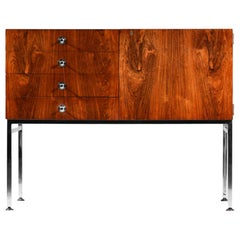 1960s Sideboard by the French Designer Alain Richard Edited by Meuble TV