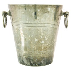 1960s Silver Plated Ice Bucket