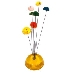 1960s Small Kinetic Sculpture in Colorful Acrylic