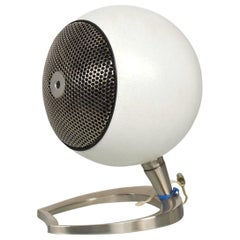 1960s Space Age Maximus Round Sound Machine Hi-Fi Speaker Mod Midcentury