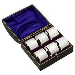 1960s Sterling Silver Napkin Rings