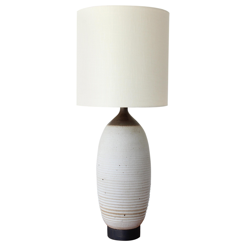 1960s Stoneware Pottery Lamp