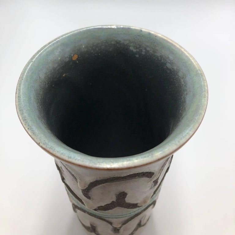 Mid-20th Century 1960s Strehla West Germany Vase For Sale
