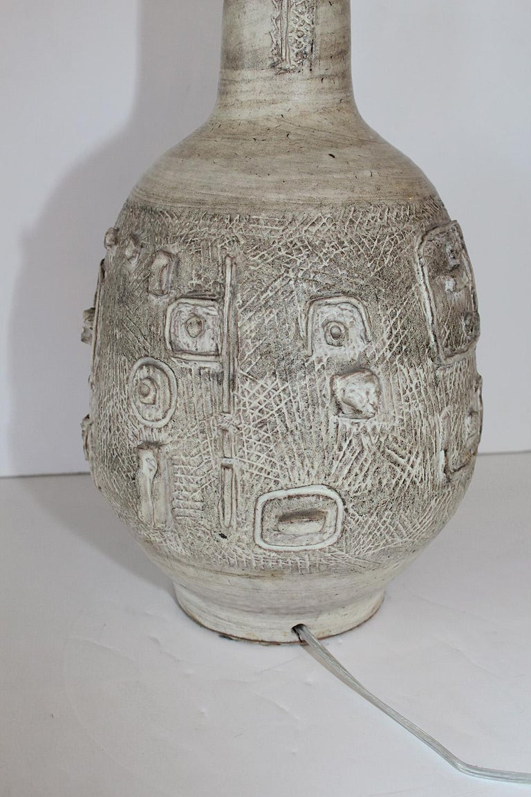 1960s Studio Pottery Lamp by W. Stephen Wing For Sale 1