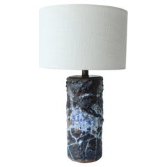 1960s Studio Pottery Lamp