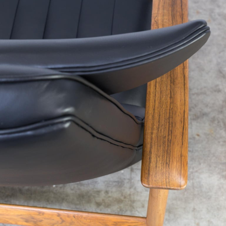 1960s Sven Ivar Dysthe lounge chair for Dokka Møbler For Sale 9