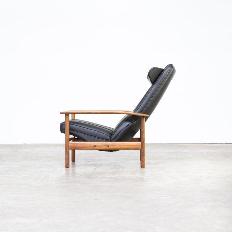 1960s Sven Ivar Dysthe lounge chair for Dokka Møbler In Good Condition For Sale In Amstelveen, Noord