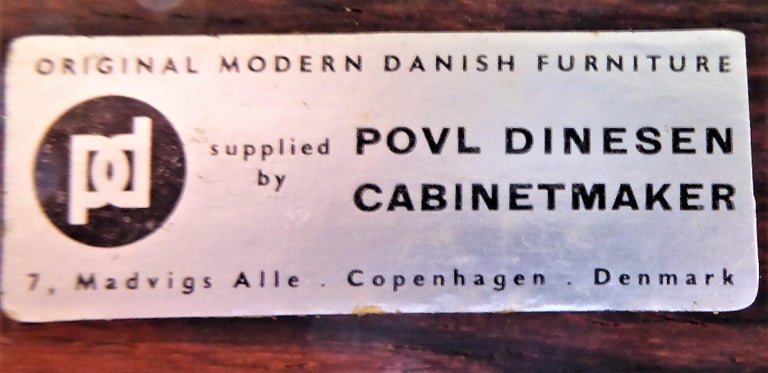 1960s Svend Aage Madsen Rosewood Executive Desk Denmark For Sale 12