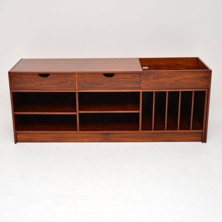 Mid-Century Modern 1960s Swedish Extending Sideboard For Sale