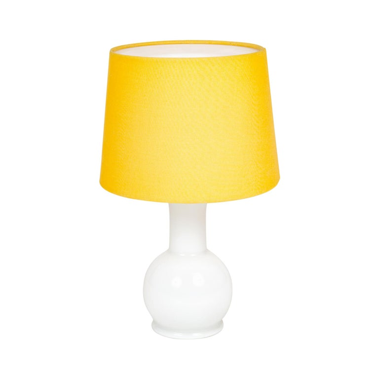 1960s Swedish Glass Table Lamp by Uno & Osten Kristiansson for Luxus For Sale