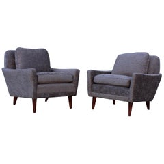 1960s Swedish Lounge Chairs by DUX