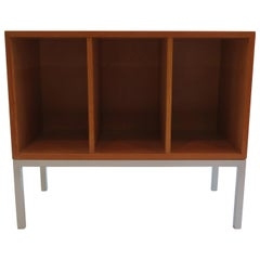 1960s Swedish Midcentury Shelving Cabinet Bookcase in Oregon Pine