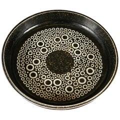 """1960s Swedish Modern Large """"Kreta"""" Bowl by Britt-Louise Sundell for Gustavsberg"""