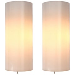 1960s Swedish Pair of Sconces by Uno & Osten Kristiansson for Luxus