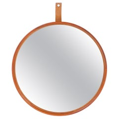 1960s Swedish Teak Mirror by Uno & Osten Kristiansson for Luxus