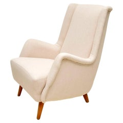 1960s, Swedish Vintage Armchair by Alf Svensson