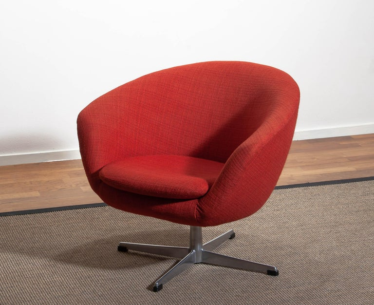 1960s, Swivel Lounge Chair By Carl Eric Klote For Overman