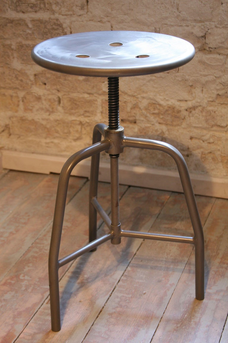 Industrial 1960s Swivel Medical Stool For Sale