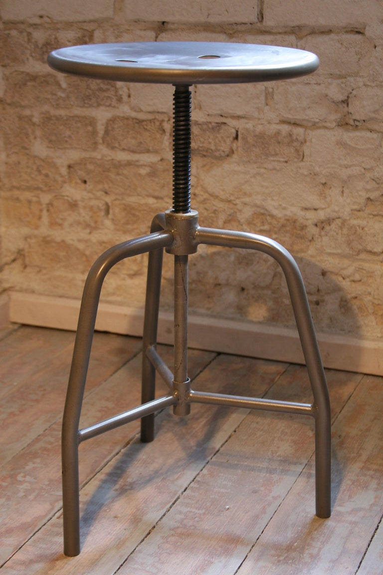 1960s Swivel Medical Stool In Good Condition For Sale In Warsaw, PL