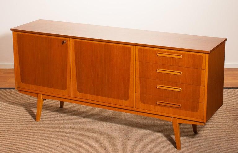 1960s, Teak And Oak Sideboard For Sale At 1stdibs