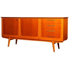 1960s, Teak and Oak Sideboard