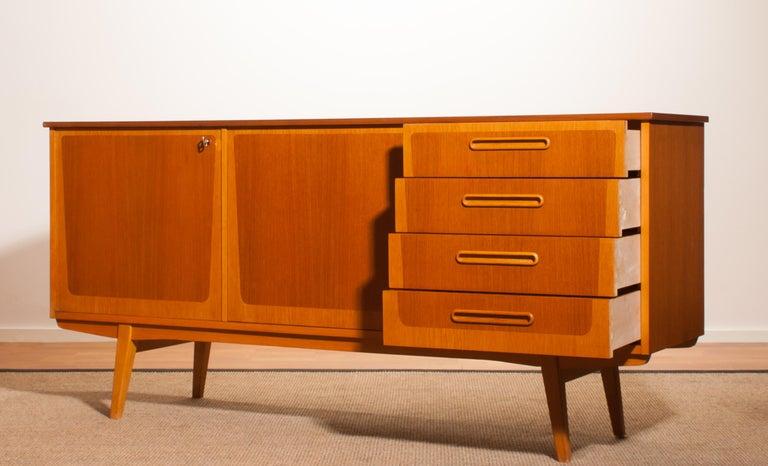 1960s, Teak And Oak Sideboard, Sweden For Sale At 1stdibs